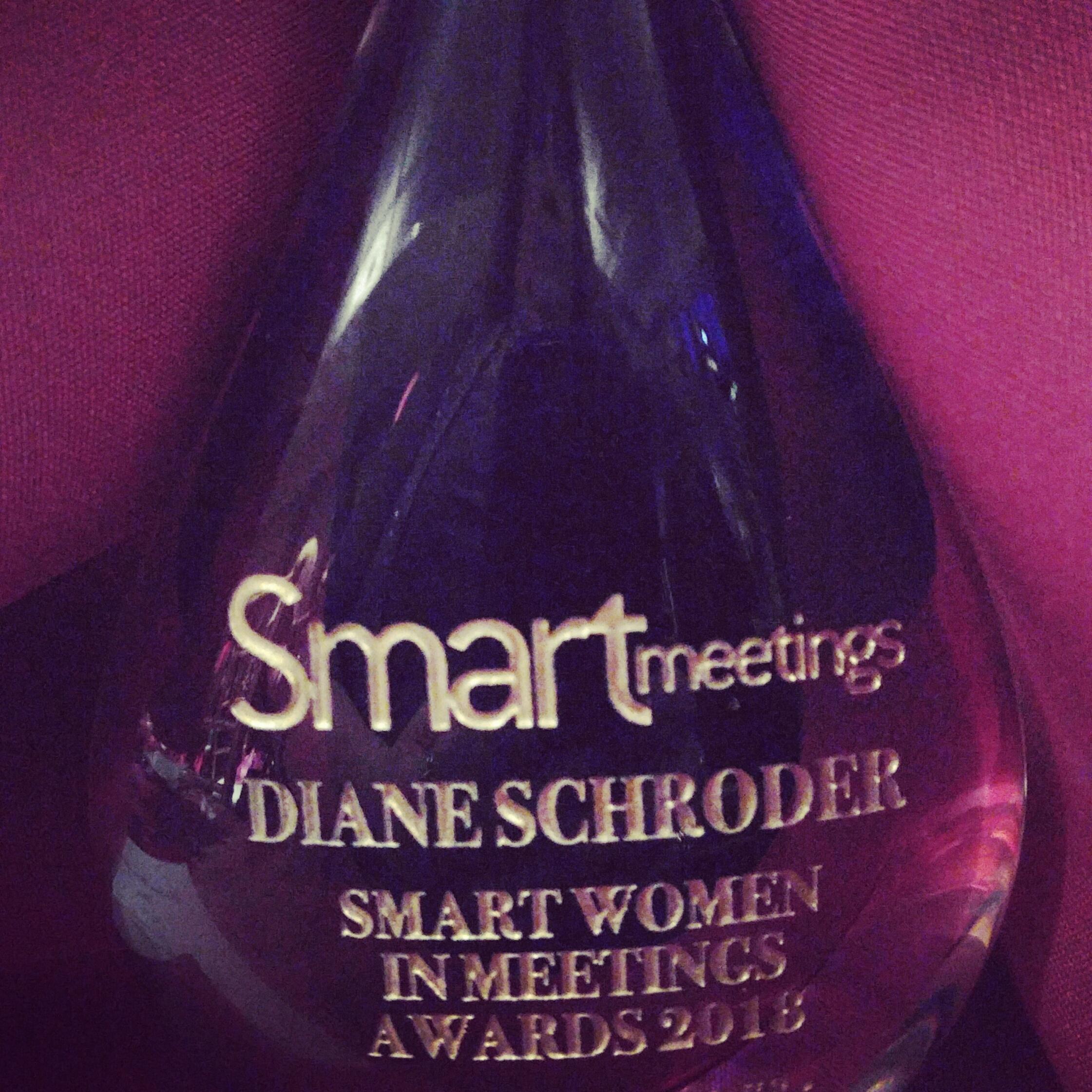 Smart Meetings, Diane Schroder Award Winner